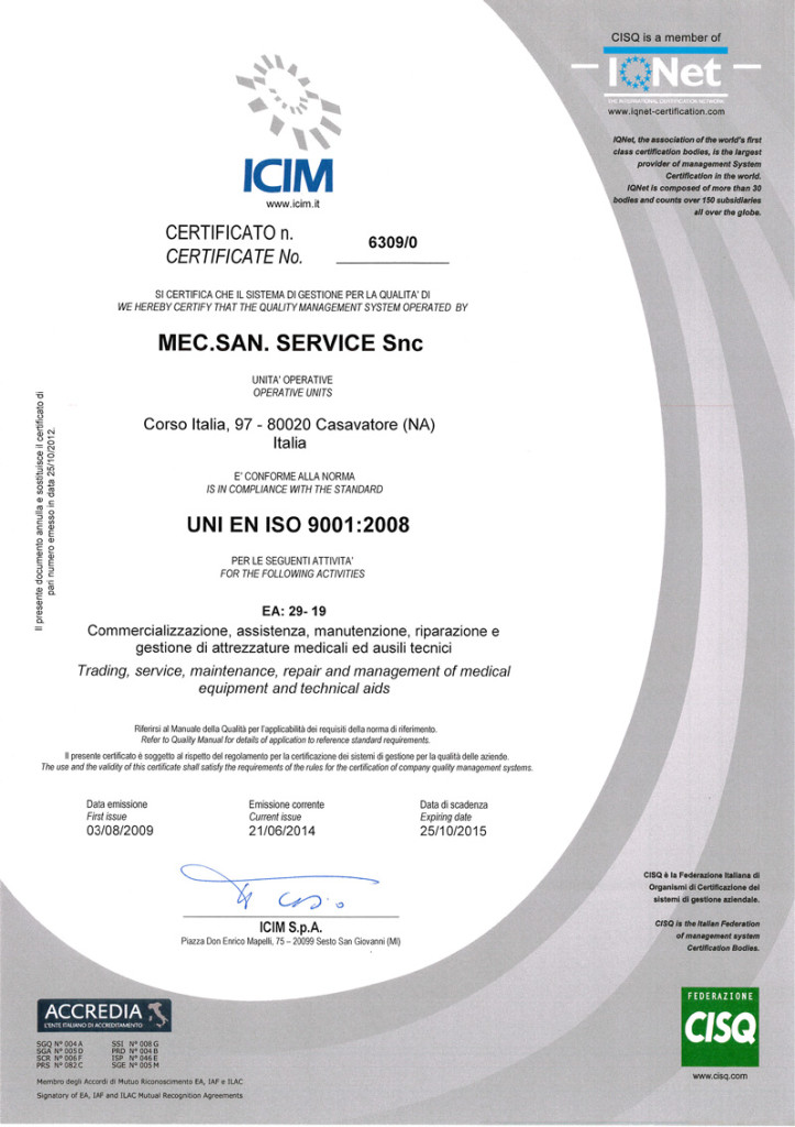MecSan-Service-ISO-9001